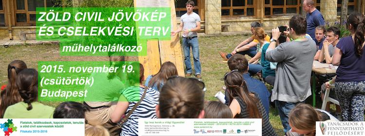 Zöld civil jövőkép és cselekvési terv (műhelymunka)