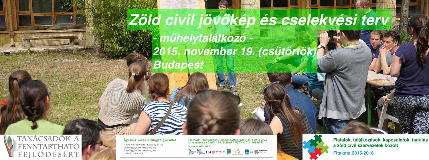 Zöld civil jövőkép és cselekvési terv – műhelymunka
