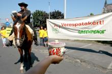 Tiltakozás a verespataki cianidos bányaberuházás ellen