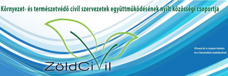Elindult a ZöldCivil facebook csoport