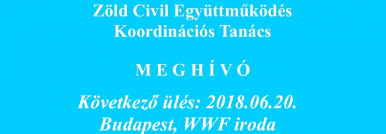 Meghívó KT ülésre (2018.06.20.)