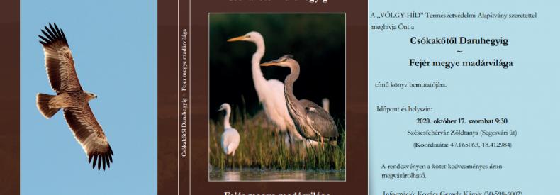 Új könyv Fejér megye madárvilágáról